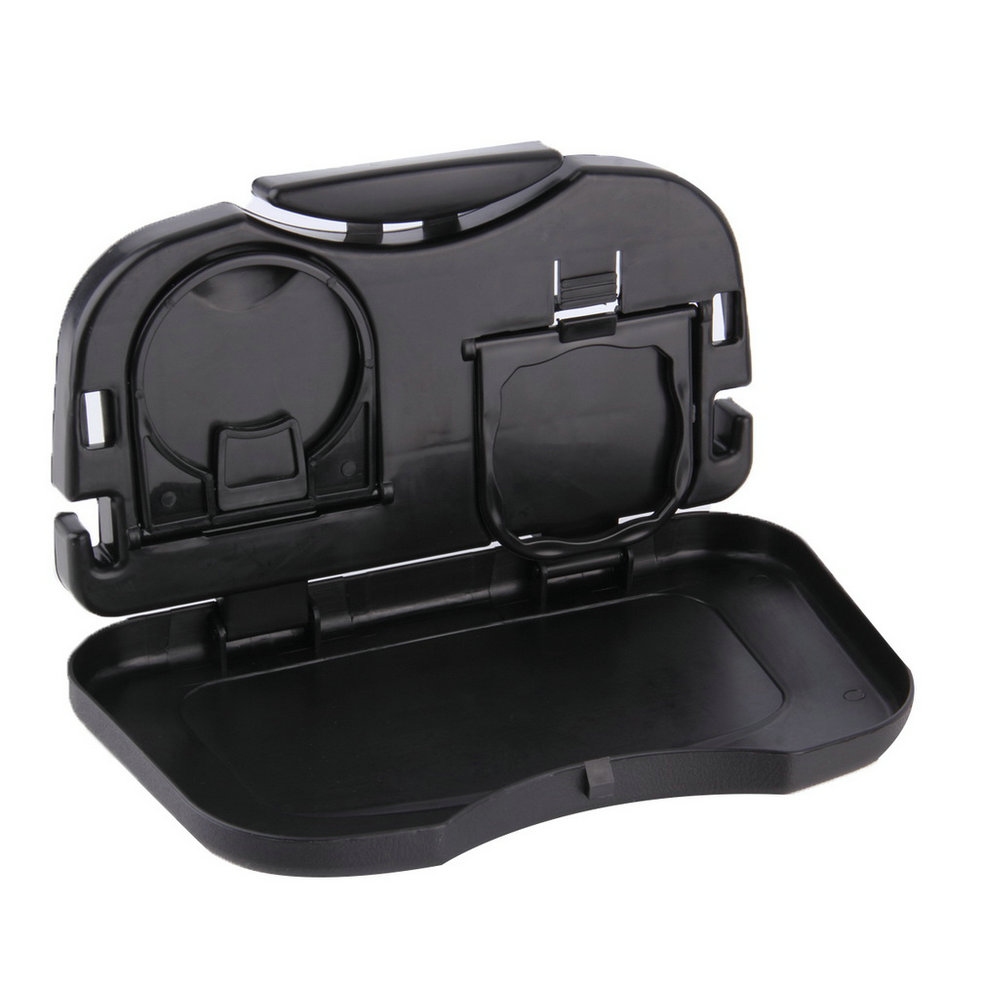 Car Tray Food Car Stand Rear Seat Beverage Rack Water Drink Holder Bottle  Travel Mount Accessory Foldable Meal Cup Desk Table~