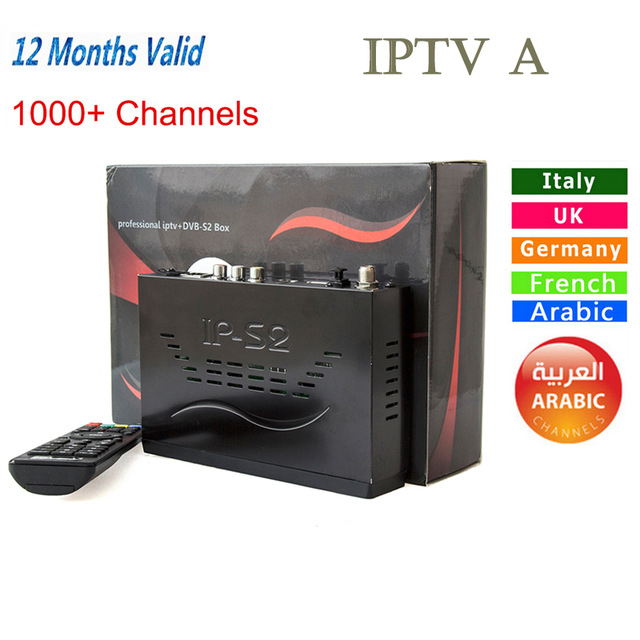 New IP-S2 Plus Full HD 1080P DVB-S2+1000+ IPTV Digital Video Broadcasting Satellite Receiver than tiger z280 mag254/ips2/ip-s2 dm500 s dvb s digital satellite receiver with rs232 video audio scart ethernet port