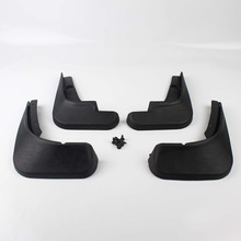 Car-Styling 4pcs Car Accessories Exterior Splash Protector Mud Flap Mudguard For Chevrolet Cruze Front Rear Fender Cover
