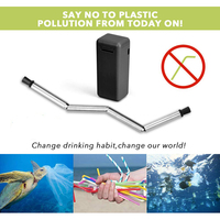 Drink and Reuse Drinking Straw