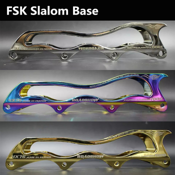 RoadShow Cool Smoothly Inline Skate Rocking Frame Base for FSK Slalom Skating, with Wheel Nail and Spacer Bushing, Outer Package