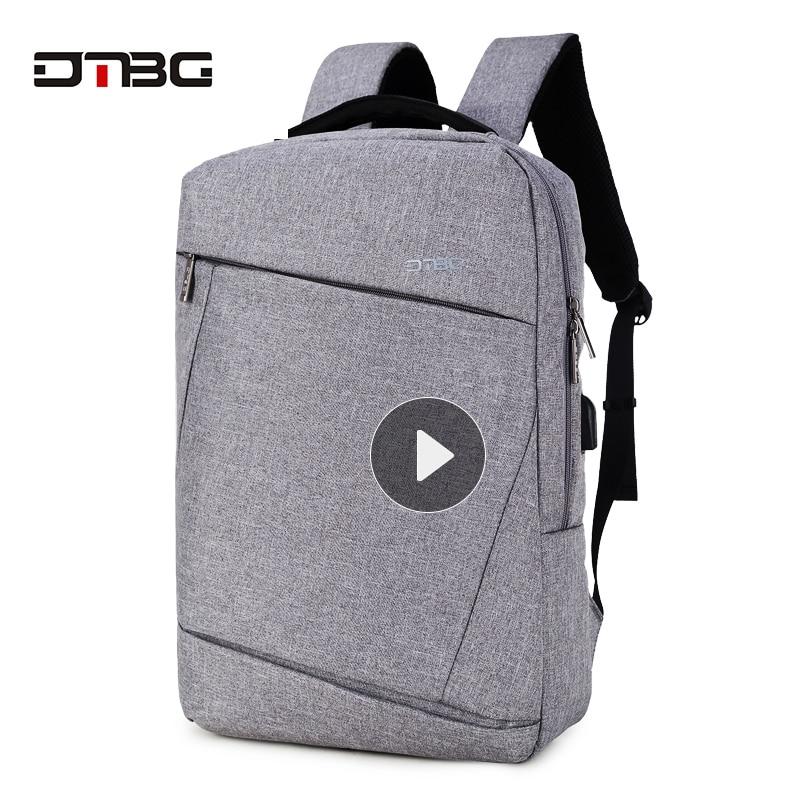 DTBG Rucksäcke Geschäftsreisen Laptop Nylon 15,6 zoll Laptop - Rucksäcke