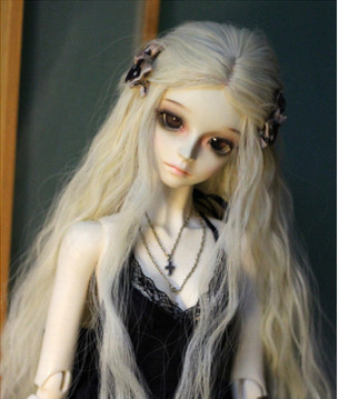 European Style New Arrival 1/3 1/4 BJD/SD Doll Wig High Temperature Long Fashion Curly For BJD Hair Wig fashion black hair extension fur wig 1 3 1 4 1 6 bjd wigs long wig for diy dollfie