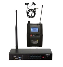 STARAUDIO SMSU-0209 Professional Stage Present UHF Wi-fi Earphone Stereo Monitor Condenser Physique-pack Microphone System