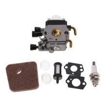 High Quality Carburetor Air Fuel Filter Spark Plug Carb Kit For STIHL FS38 FS45 KM55