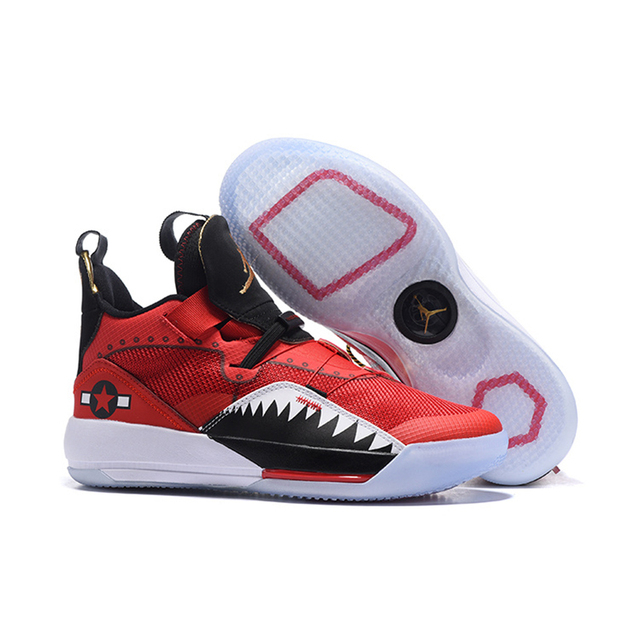 1ff5bbb326f5fd 2019 Jumpman 33 XXXIII AIR US JORDAN White red black Purple Sports Basketball  Shoes black green color Men Sneakers New Arrival