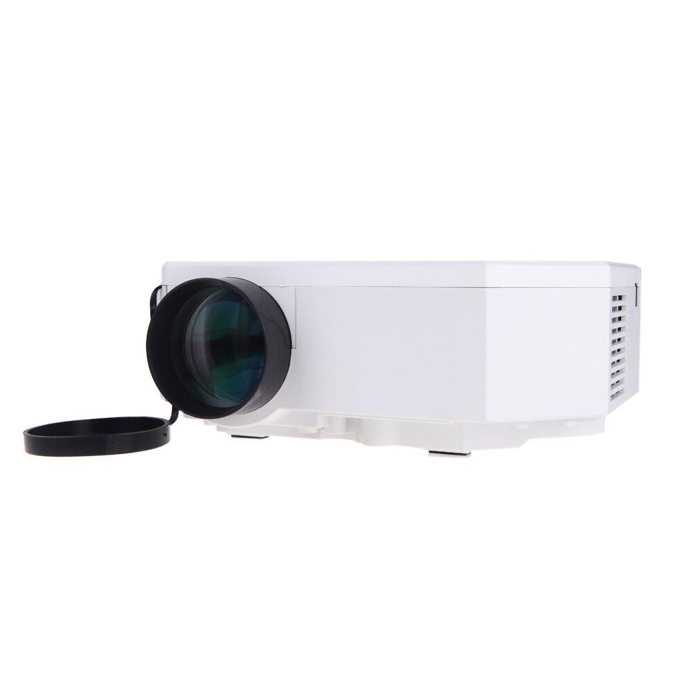 Marca nueva portátil Mini Led Beamer HDMI proyector del teatro casero projektor