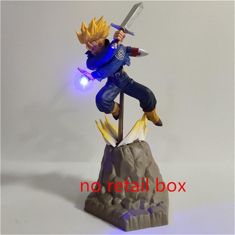 Lampara Dragon Ball Z Goku Vegeta trunks Супер Saiyan игрушки аниме Dragon Ball настольная лампа декор Освещение Сон Гоку светодиодный ночник - Испускаемый цвет: Белый