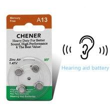 20x Zinc air bateria botão bateria do aparelho auditivo P13 PR48 A13 estabilidade forte