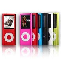 SMILYOU Hoge Kwaliteit 16 GB Mp4-speler 1.8 inch Lcd-scherm Voice Recorder FM Radio Video Muziekspeler 9 Kleuren om kiezen