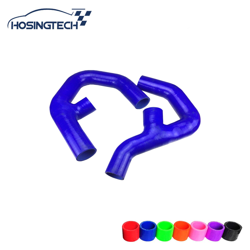 HOSINGTECH-for Volkswagen GOLF MK5 GTI /Sagitar 1.8 TSI// Scirocco 2.0 TSI / Touran 2.0L turbo silicone intercooler hose ki waterproof rubber hk right hand steering wheel car floor mats for volkswagengolf 5 6 scirocco with gti tsi r r golf logo