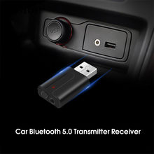 KEBIDU Wireless Bluetooth Receiver Transmitter V5.0 Stereo Music 3.5mm AUX Jack Audio Receptor USB Mini Bluetooth Adapter(China)