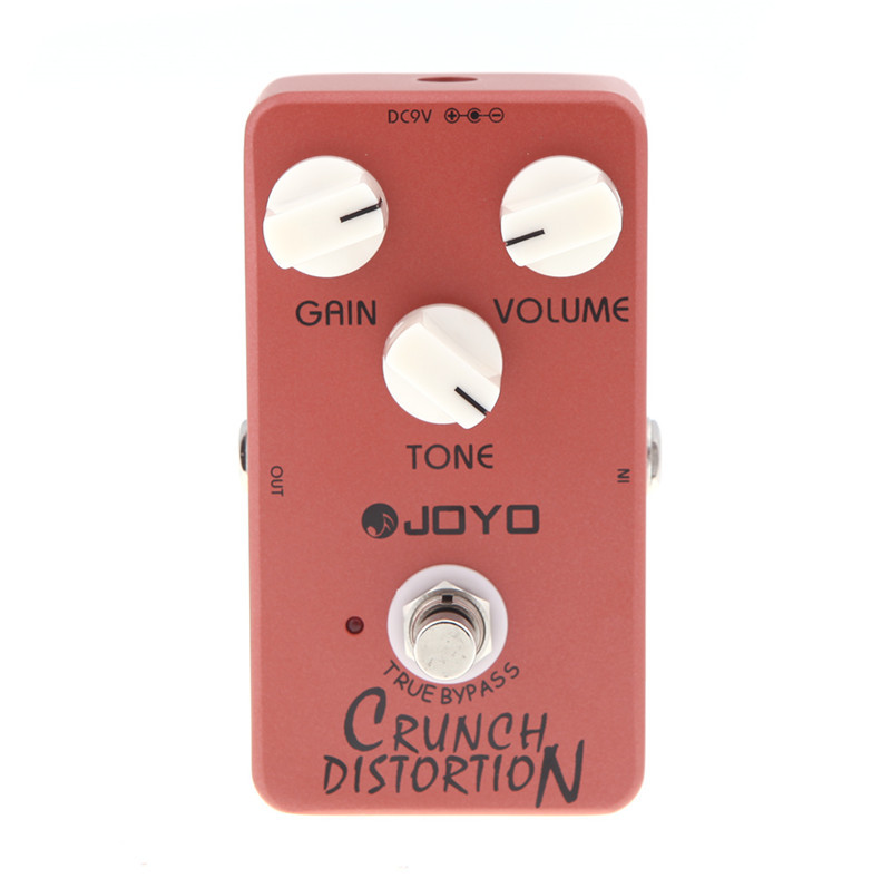 цена на Joyo JF-03 Crunch Distortion Electric Guitar Effect Pedal British Classic Rock Free Shipping