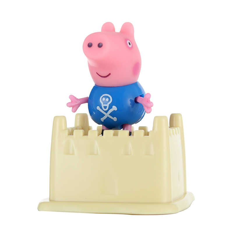 Genuine Peppa Pig George And Friends Set Combination Series Pelucia Anime Toys Children S Birthday Gifts Christmas Gifts