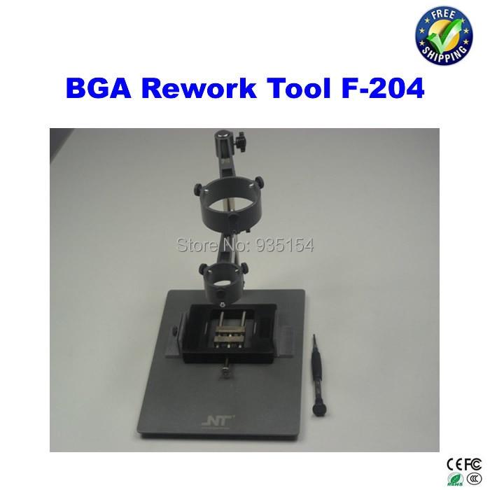 Hot Air Gun Clamp, Holder For Mobile Phone Repair Platform Bga Rework Tool F-204 f 204 mobile phone laptop bga rework reballing station hot air gun clamp