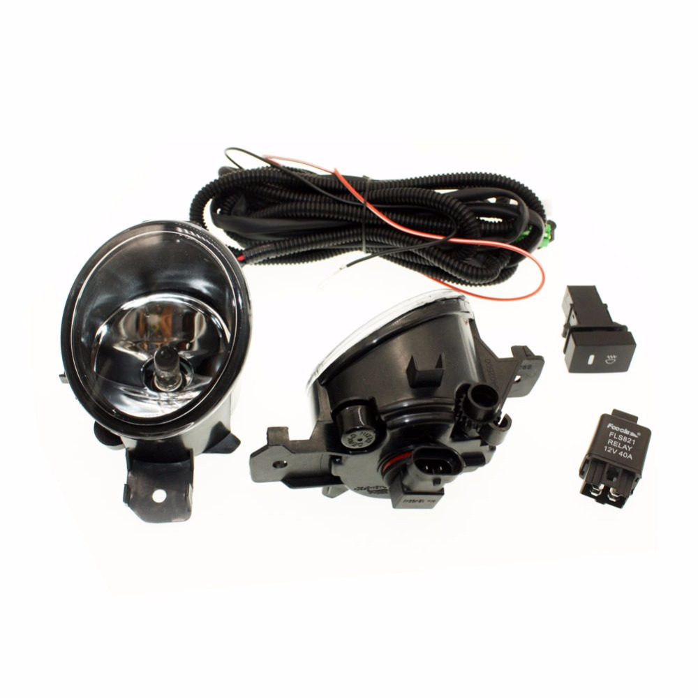 Us 3437 14 Off H11 Wiring Harness Sockets Wire Connector Switch 2 Fog Lights Drl Front Bumper Halogen Lamp For Infiniti G37 Coupe And In Car Light Assembly From