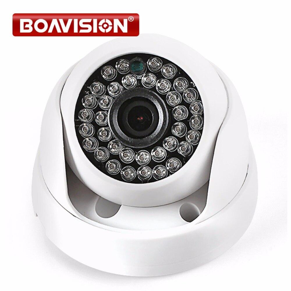 HD IP Caméra 720 P 1080 P Intérieur Dôme Cam IR Lentille 3.6mm 2MP IP CCTV Caméra de Sécurité Réseau Onvif P2P Android iPhone XMEye vue