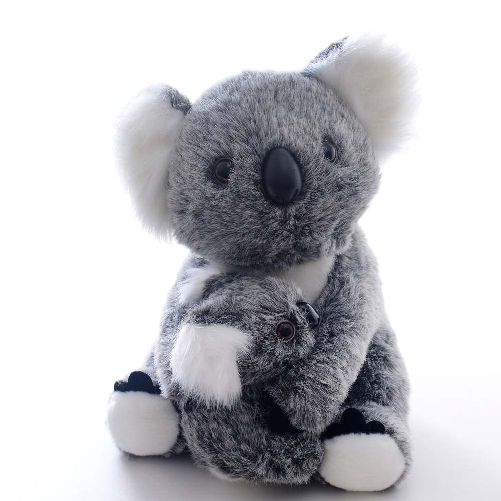 Plush Stuffed Animal Koala Toys Soft Koala hold Baby Dolls Simulation Animal Collection Best Gifts for Kids Boy Girls 11*6 hot sale toys 45cm pelucia hello kitty dolls toys for children girl gift baby toys plush classic toys brinquedos valentine gifts