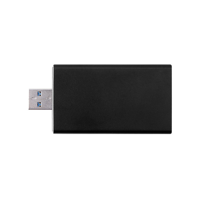 lowest price 5Gbps USB 3 0 to mSATA SSD Enclosure USB3 0 to mini-SATA Hard Disk adapter M2 SSD External HDD Mobile Box