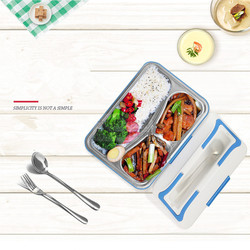 110/220V Electric Heating Pot High Quality Multifunctional Heating Meal Box Machine Car 12V Lunch Box 2 Color Available