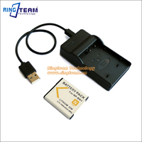 2 In 1 BN1 NP BN1 Battery Pack USB Charger For Sony Digital Camera CyberShot DSC