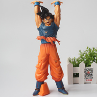 25CM Anime Dragon Ball Z Son Goku Genki Dama Spirit Bomb Action Figure Kakarotto Collection Model