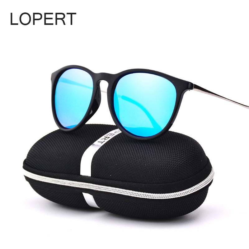 LOPERT Fashion Cat Eye HD Polarized font b Sunglasses b font Women Driving Glasses Brand Designer