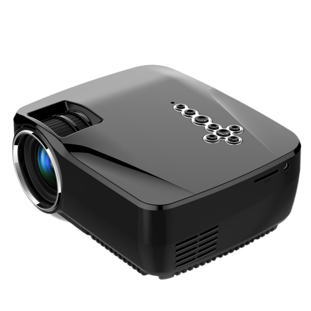 Mini Portable LED Video Projector Portable Mini LED LCD Projector HD Wireless Bluetooth LED Mini Projector High Definition