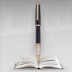 Пикассо 918 Pimio Dreamy Полька черная с золотым зажимом роликовая ручка, благородная Подарочная коробка на выбор для мужчин и женщин бизнес офисн...