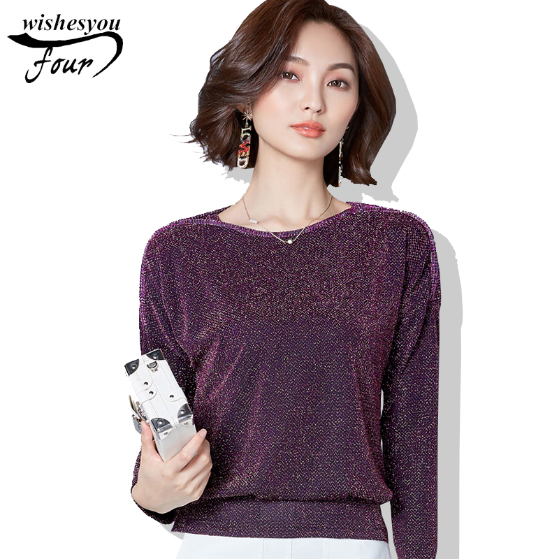 Women's Clothing Ttytree Spring Summer Blouses Casual Shirt Women Office Lady Long Sleeve Stand Collar Bow Ruffles Tops Shirts Black White Last Style