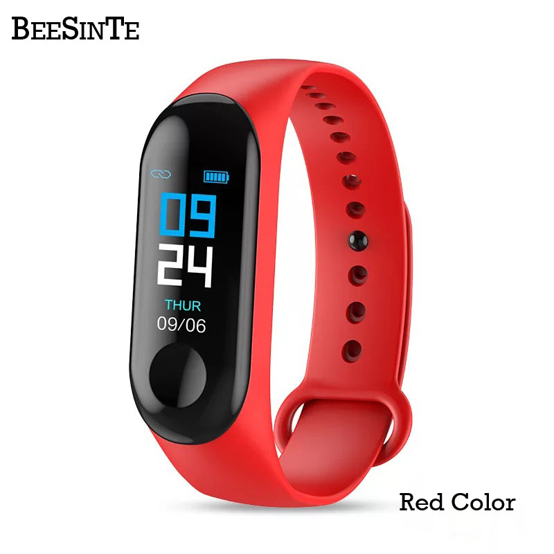 Image 2 - Smart Bracelet Fitness tracker Blood Pressure Outdoor IPS Screen Heart Rate Monitor Life Waterproof Smart Wristbands PKMi Band 3-in Smart Watches from Consumer Electronics