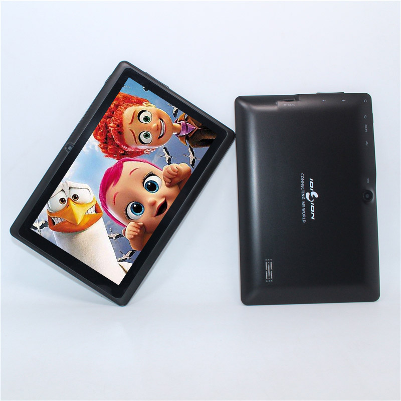 Tablet 7 inch tablet Allwinner A33 tablet pc Quad Core Q88 S88 Android 4.4 512MB/8GB 1024*600 aqh3223 dip 7 s88