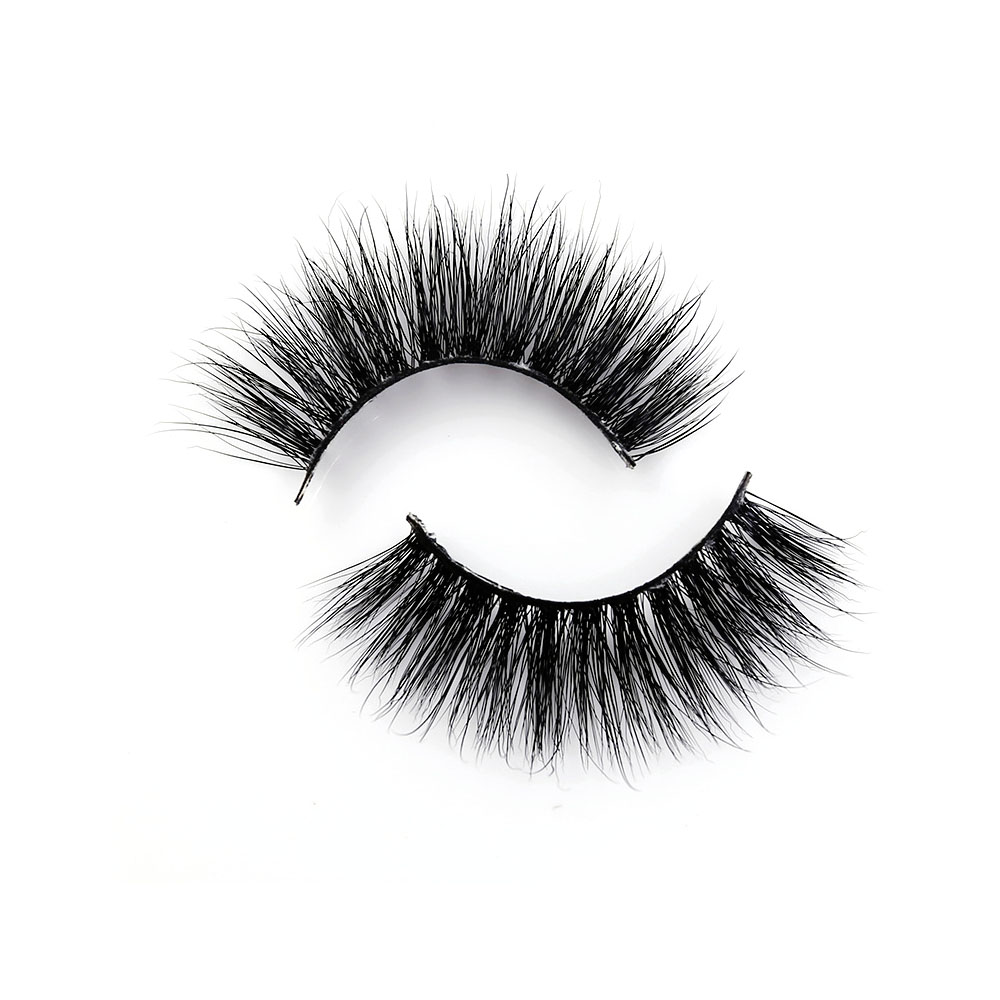 Hand made 1 Pair 3D Mink False Eyelashes Crisscross Natural Long Full Strip Lashes Delicate Extension For Beauty Make-up D11
