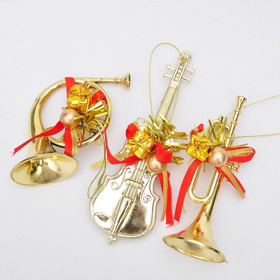 musical instrument christmas ornaments  Datastashco