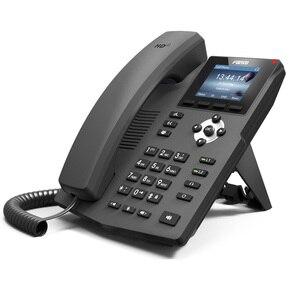 Image 4 - Teléfono Fanvil IP X3S, teléfono de sobremesa con montaje en pared, 2 líneas SIP con pantalla a Color, auriculares habilitados para POE por voz HD, teléfono de sobremesa inteligente