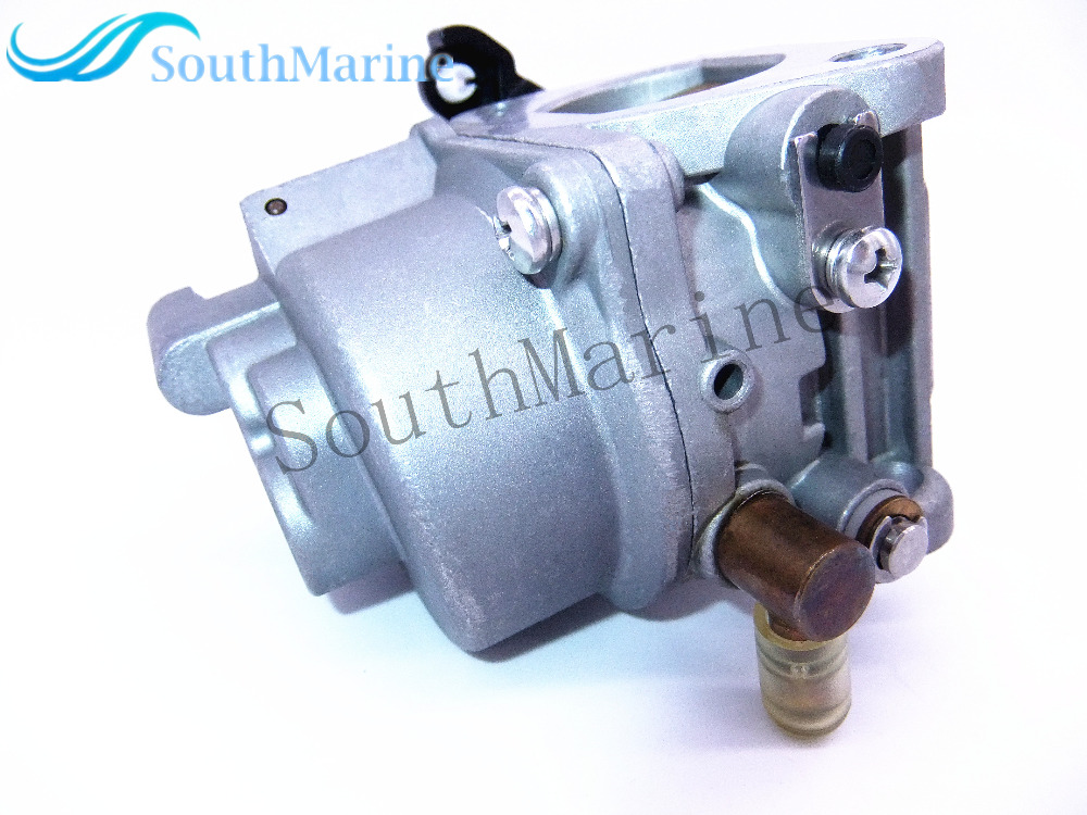 Outboard Motors Carburetor Assy 68T-14301-11-00 For Yamaha 4-stroke 8hp 9.9hp F8M F9.9M , Free Shipping