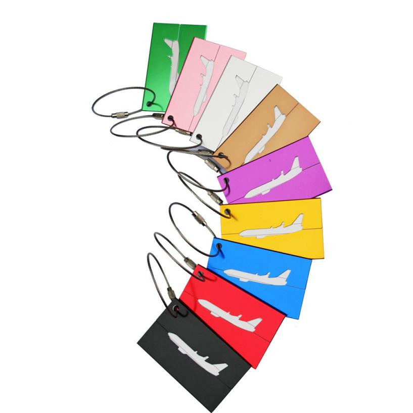 Back To Search Resultssports & Entertainment Efficient Hot Sale Multicolor Portable Travel Outdoor Luggage Tag Travel Bag Luggage Identification Tag Durable Aluminum Alloy 7.5x4.4cm Sale Price