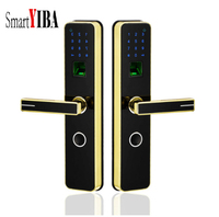 SmartYIBA дома противоугонные Smart биометрический замок цифровой замок без ключа разблокировки по отпечаткам пальцев + пароль + IC карта + ключ