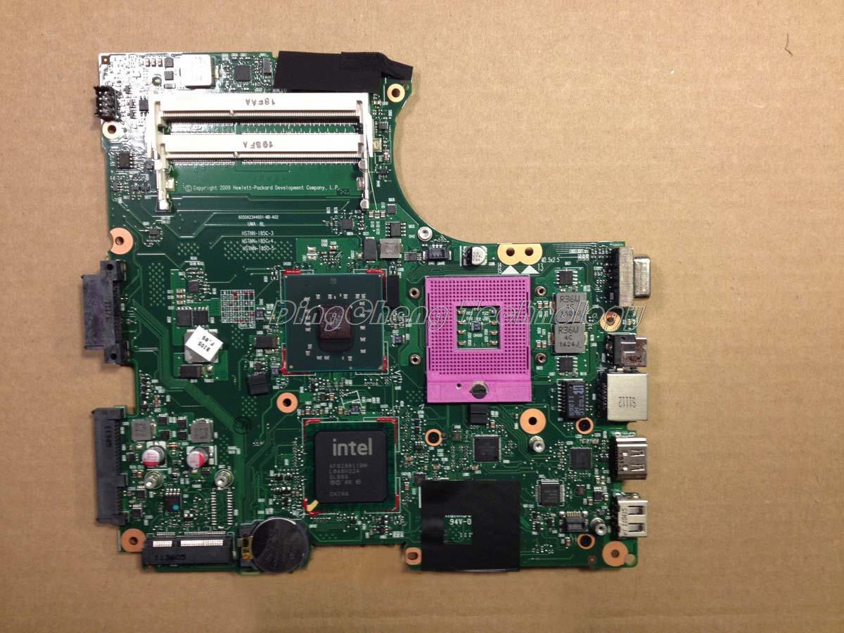 SHELI laptop Motherboard For hp compaq cq320 321 420 421 620 605748-001 for intel cpu with GL40 integrated graphics card DDR3