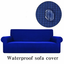 100% Waterproof Sofa Cover Set High Quality Couch Slipcover Breathable l Shaped Form Fit Furniture Protector