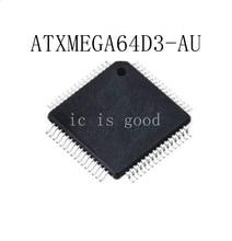 10PCS ATXMEGA64D3 ATXMEGA64D3-AU QFP64 New original