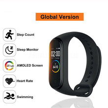 M4 Smart Sport Bracelet Watch Heart Rate Monitor Fitness Tracker Swimming Waterproof Wristband