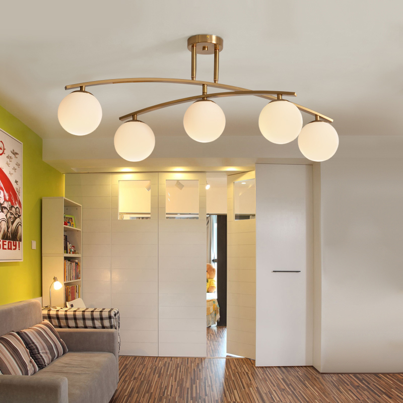 Post-Modern Glass Led Ceiling Chandeliers Gold Metal Rotatable Dining Room Lustre Fixtures Led Chandelier Lighting LuminariaPost-Modern Glass Led Ceiling Chandeliers Gold Metal Rotatable Dining Room Lustre Fixtures Led Chandelier Lighting Luminaria
