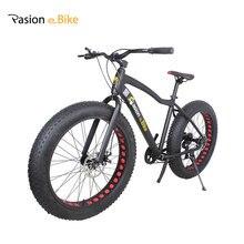PASION E BIKE Aluminium frame 26*4.0 7 Speed fat tire bicicleta mountain bicycle fat bike 18inch frame fat bike with fender