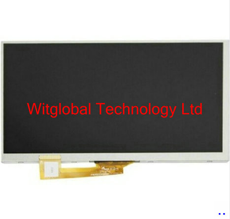 New 7'' Inch 30pin LCD Display Screen For Digma Optima 7.21 3G TT7021PG tablet 163*97mm Matrix Module Replacement Free Shipping