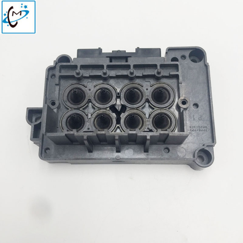 Made in japan DX7 printhead cover adapter manifold F189010 F19610 xenon lecai titanjet wit color digital printer head cover high quality original dx7 print head f189010 printhead first locked printer head