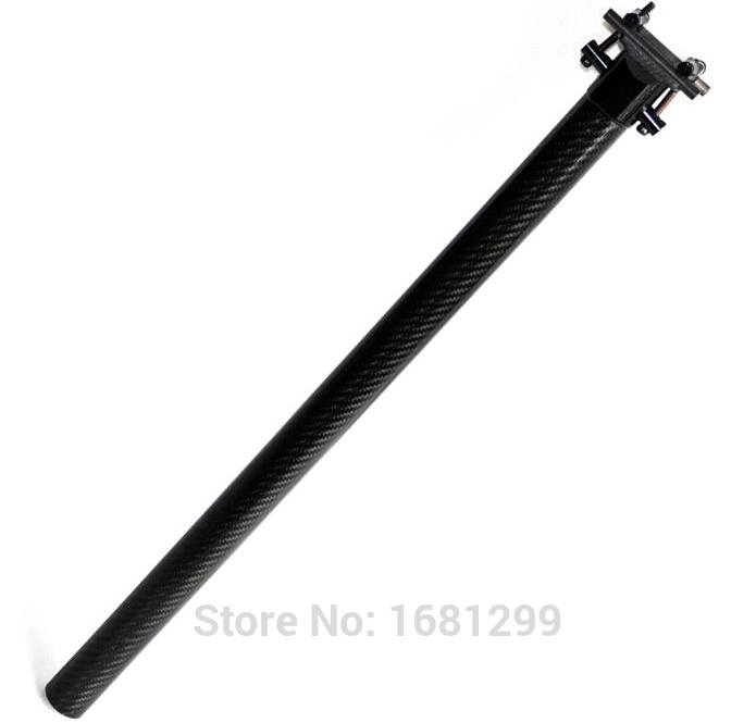 New OEM mountain bike 3K full carbon fibre seatposts carbon bicycle seatpost use for Folding bike 33.9*580mm Free shipping rockbros titanium ti pedal spindle axle quick release for brompton folding bike bicycle bike parts