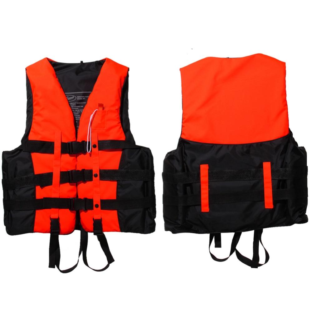 Life Jacket Vest Swimwear Life Vests Jackets with Whistle for Water Sports Man Jacket Swimming Boating Drifting Jacket