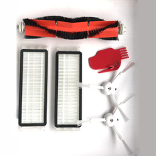 2 HEPA Filter+ 2 Side Brush+1 Main Brush for Xiaomi Mi Robot Vacuum Cleaner with Tool Cleaning Parts Accessories