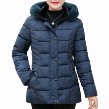 Winter Autumn Woman Fur Hooded Jacket Red Green Quilted Outerwear Female Puffer Basic Coat With Fur Hood Padded Overcoat Women цена и фото